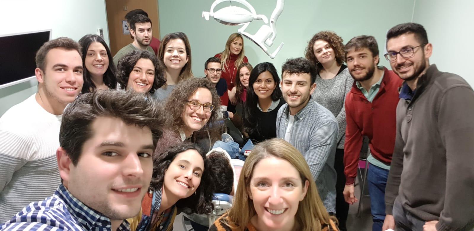 Sedación consciente en Odontología con nuestros alumnos de Cirugía
